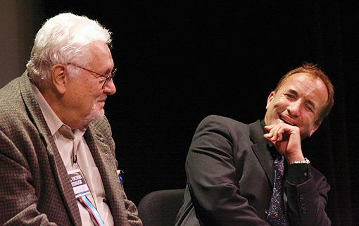 فيكتور ستينغر مع مايكل شيرمر
