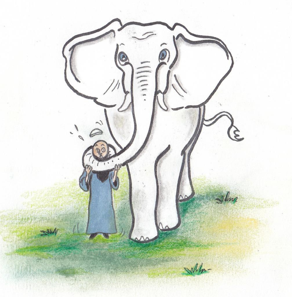 هل الإسلام دين ام فيل ابيض